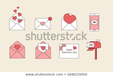 Mobile Love Letter Stock photo © timurock