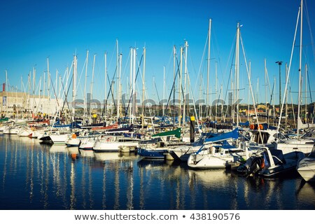 Marina in Lisbon, Portugal Stock photo © joyr