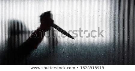 ceza · büyük · keskin · bıçak · kötü · hazır - stok fotoğraf © stevanovicigor