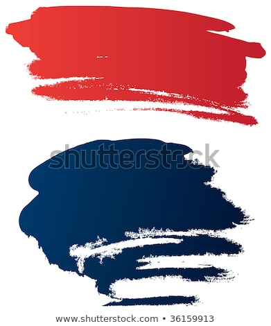 Paint Brush Red Vector Icon Button Stock photo © rizwanali3d