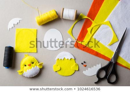 arts · artisanat · mains · enfant · panier · construction - photo stock © lightsource