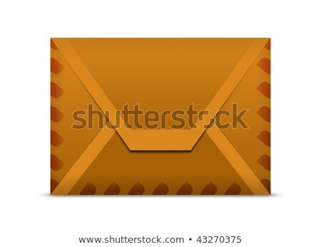 Stock photo: Manila envelope macro background
