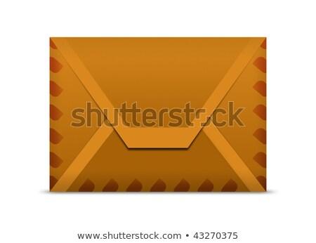 Manila envelope macro background Stock photo © njnightsky