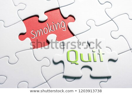 Cancer - White Word on Red Puzzles.  Stock photo © tashatuvango