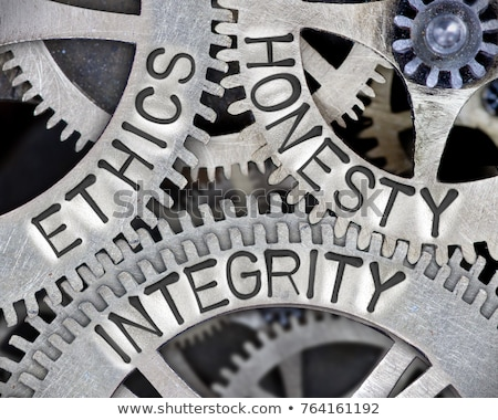 Metal Integrity Text stock photo © bosphorus