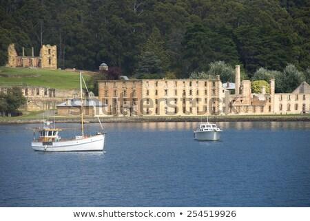 Liman mahkum müze Avustralya dünya miras Stok fotoğraf © roboriginal