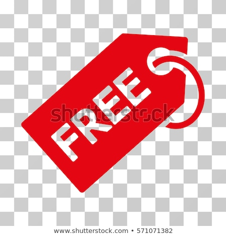 Free Coupon Red Vector Icon Design Stock photo © rizwanali3d