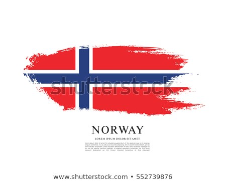 норвежский · Гранж · флаг · путешествия · ветер · Европа - Сток-фото © saicle