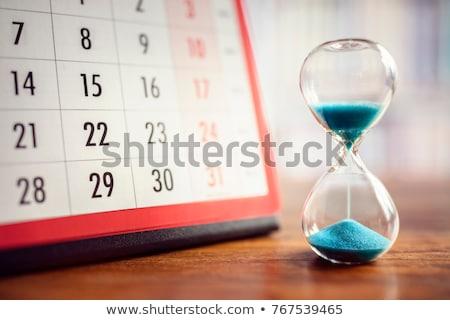 время планирования эффективность управления бизнеса часы Сток-фото © Lightsource