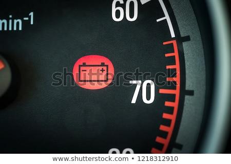 Vehicle Dash Warning Symbols Stock photo © Bigalbaloo