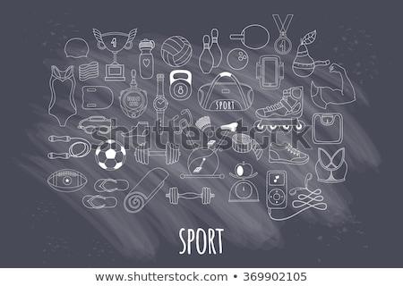 stopperóra · zöld · vektor · ikon · terv · szolgáltatás - stock fotó © rastudio