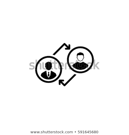 Coaching Icon. Business Concept. Flat Design. Stock photo © WaD