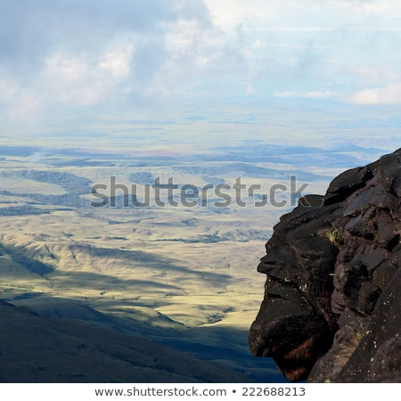 Vista meseta Venezuela américa latina naturaleza paisaje Foto stock © Mariusz_Prusaczyk