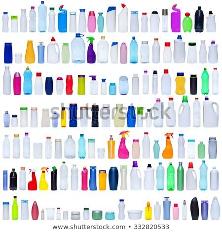 Colore shampoo sapone bottiglie isolato bianco Foto d'archivio © tetkoren