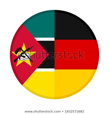 Alemanha Moçambique bandeiras quebra-cabeça isolado branco Foto stock © Istanbul2009