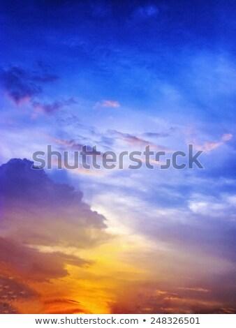 美しい 暗い 空 雲 抽象的な ストックフォト © morrbyte