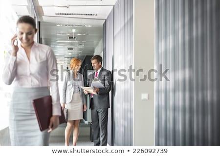 business people in corridor 3 Stock photo © Paha_L