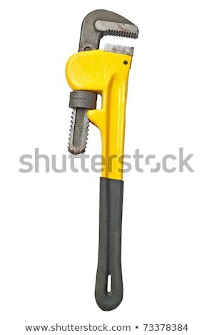Mono llave utilizado fontanería trabajo industria Foto stock © shutswis