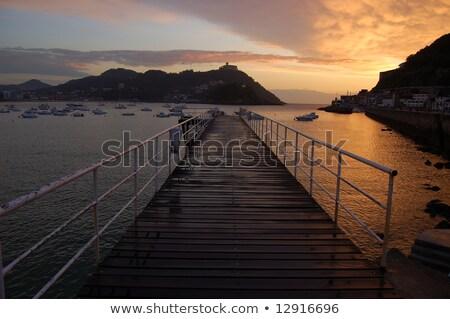 Puente peatonal náutico club España isla Foto stock © Photooiasson