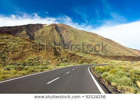 górskich · wyspa · niebo · drzewo · krajobraz · morza - zdjęcia stock © digifoodstock