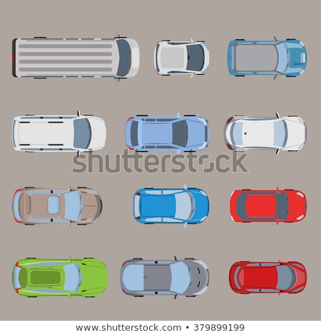 vector · autobús · ruedas · aislado · blanco · camión - foto stock © bluering