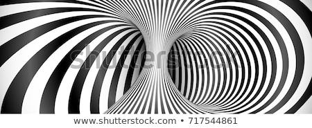 túnel · sair · luz · homem · preto - foto stock © stevanovicigor