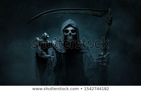 grimmig · lopen · eps8 · nacht · dood · silhouet - stockfoto © sifis