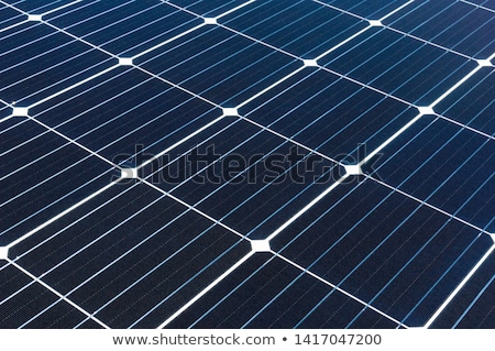 close up of solar battery or cell Stock photo © dolgachov