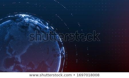 haber · dünya · dünya · üç · boyutlu · başlık · yalıtılmış - stok fotoğraf © devon
