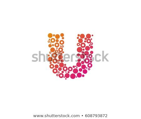 abstract · iconen · brief · ontwerp · oranje · teken - stockfoto © sarts
