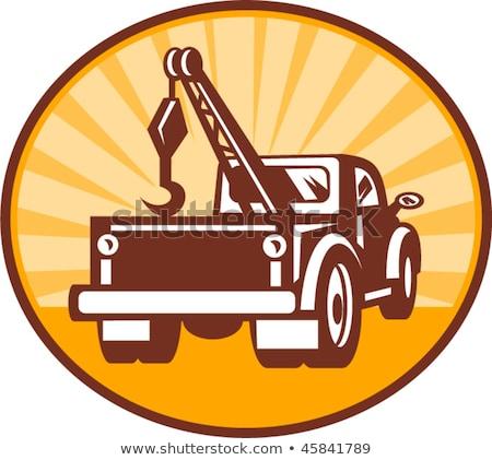 camion · auto · indietro · tecnica · corpo - foto d'archivio © Phantom1311