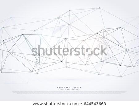 vektör · soyut · ağ · tel · kafes · tıbbi · teknoloji - stok fotoğraf © sarts