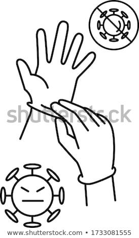 Médicos simplemente iconos vector web usuario Foto stock © ayaxmr