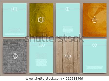 Carpeta catálogo primer plano vista atención selectiva Foto stock © tashatuvango