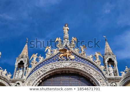 фасад собора Флоренция Италия облака Сток-фото © Givaga