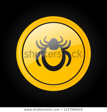 bloodsucker flat icon stock photo © ahasoft