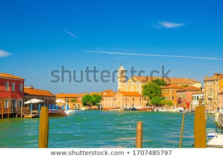 Kilise İtalya ada ev seyahat Stok fotoğraf © Virgin