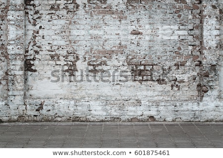 Ruined brick wall texture Stock photo © stevanovicigor