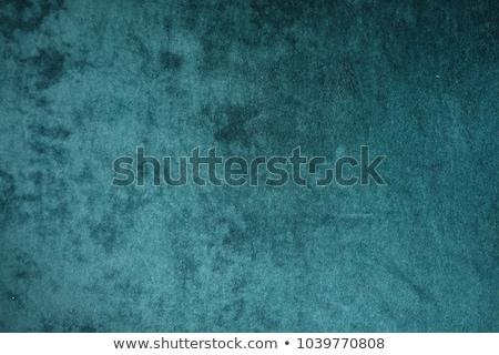 Zöld bársony textúra közelkép kilátás szövet Stock fotó © LightFieldStudios
