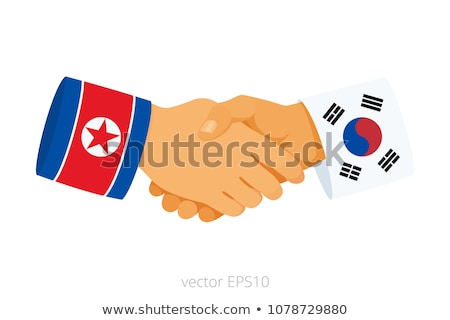 South And North Korea Peace Agreement Stock photo © Lightsource