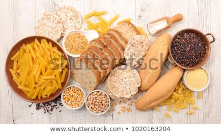 Comida sem glúten saúde fundo estilo de vida conceito Foto stock © M-studio