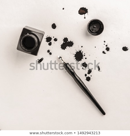 авторучка чернила дизайна Creative Дать иллюстрация Сток-фото © lenm