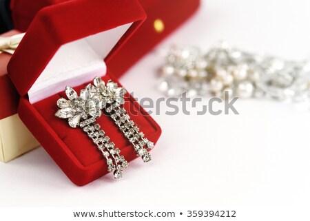 gouden · kostbaar · stenen · geïsoleerd · witte · vector - stockfoto © robuart