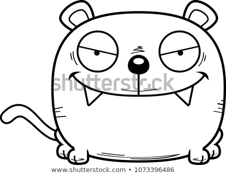 Karikatür sinsi panter örnek bebek Stok fotoğraf © cthoman