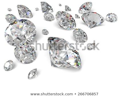Large transparent diamond Stock photo © AlexMas