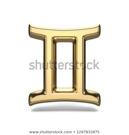 Zodiaco segno 3D illustrazione Foto d'archivio © djmilic