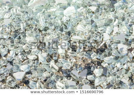 shards of broken glass on floor Stock photo © dolgachov