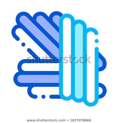 mikroskobik · bakteri · vektör · imzalamak · ikon · ince - stok fotoğraf © pikepicture