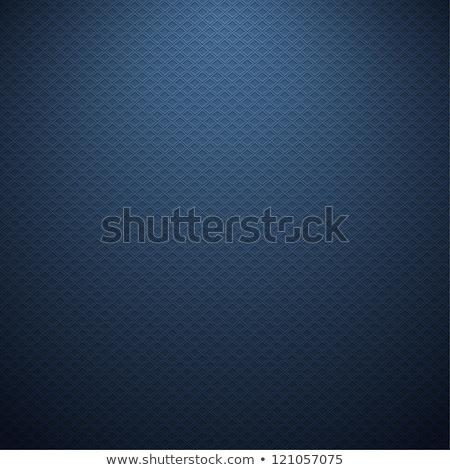 abstract dark blue carbon fiber texture pattern background Stock photo © SArts
