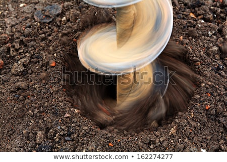 Construction Works, Digging and Drilling Ground Stock photo © robuart